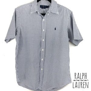 Ralph Lauren customer fit button down shirt